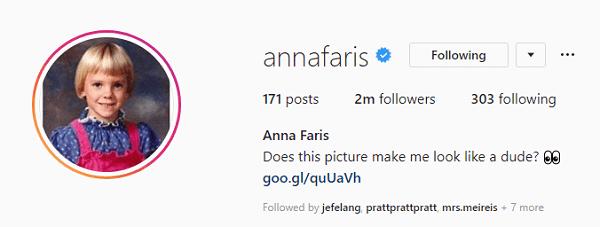 Anna Faris Instagram
