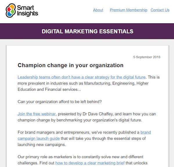 50 Smart, Effective Newsletter Examples - ShareThis