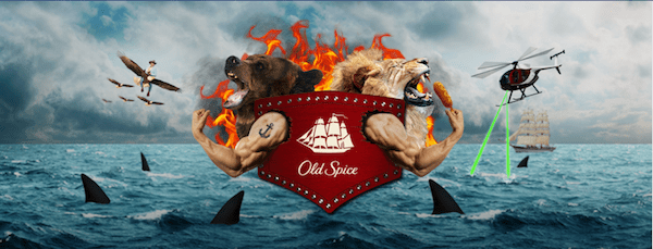 Old Spice Facebook cover photo